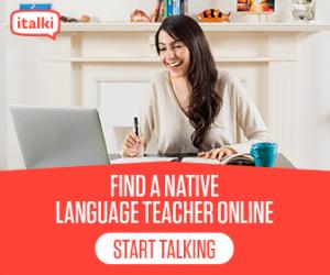 native English American tutor lesson