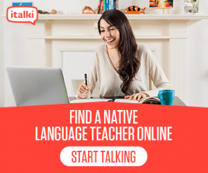 native English American tutor lesson