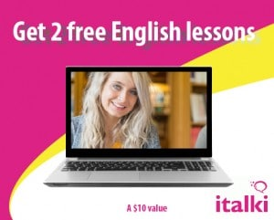 Two Free English Lessons