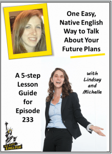 how to talk about your future plans in English