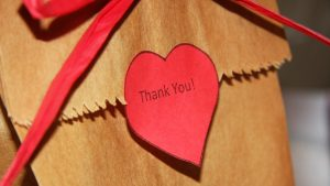 one word you should avoid when you say thank you