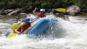 ride rapids of English conversation and life