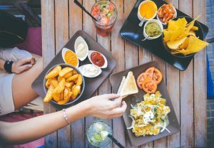 customize diet in English order food in restaurant