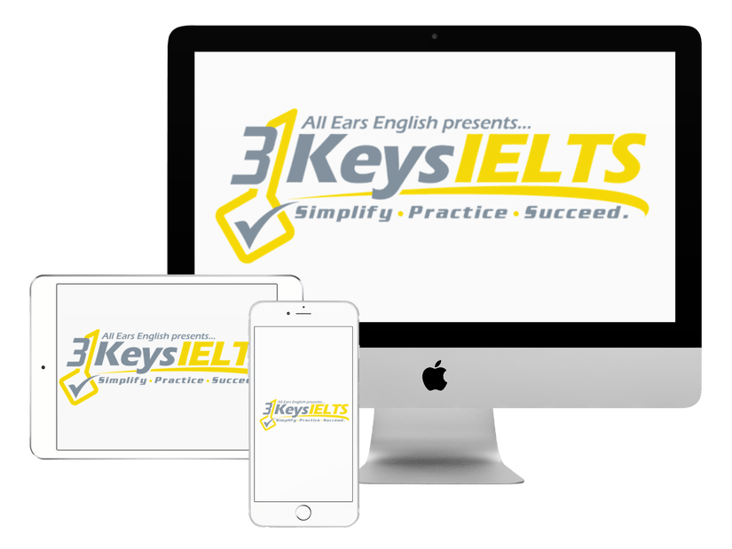 3 Keys IELTS online course