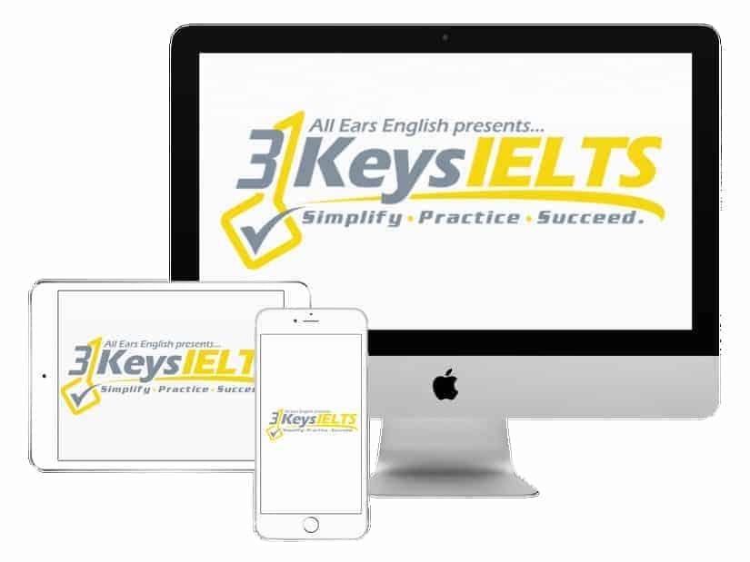 3 Keys IELTS Online Course logo