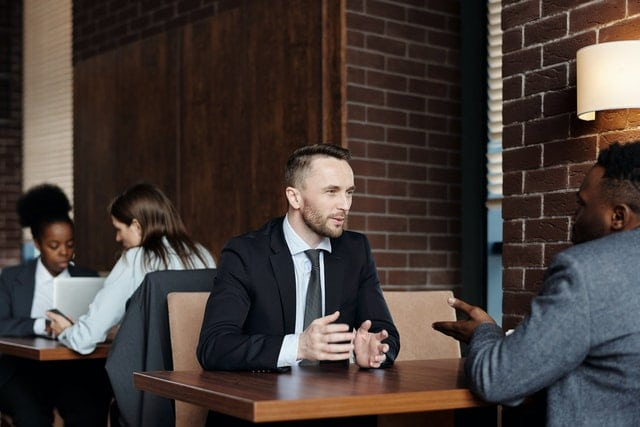 job interview English