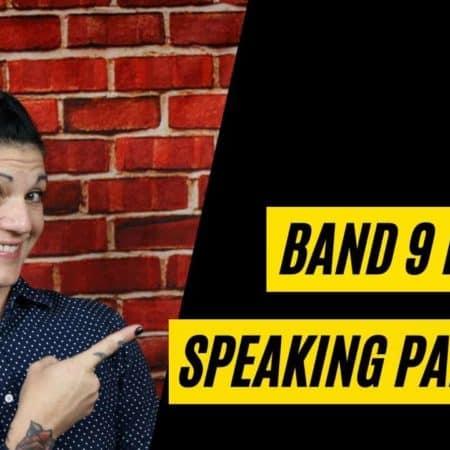 IELTS Band 9 Speaking video