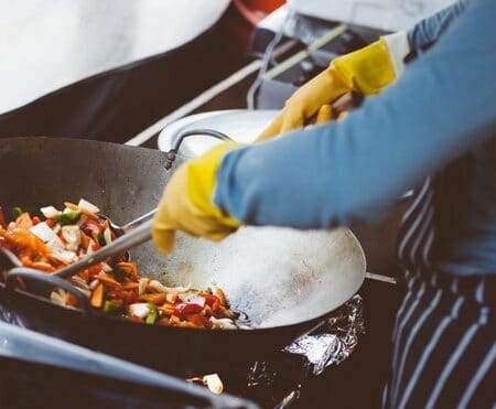 AEE 1665 - Cook Up Your Listening Skills for Fast Conversations Cooking Stir Fry Vegatables using a Wok